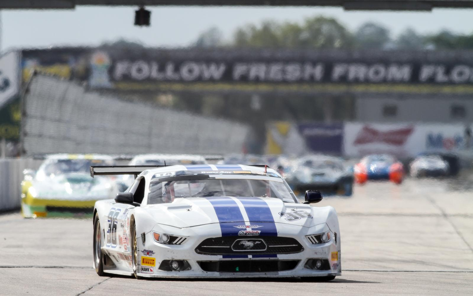Cliff Ebben secures first Trans Am victory of 2017 at Sebring