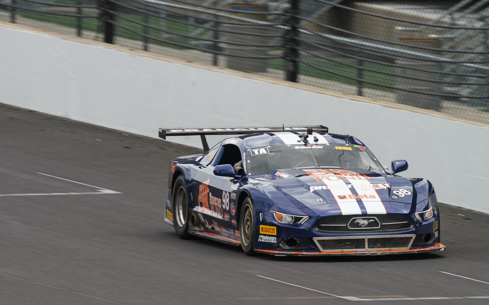 Francis' streak lives on with Trans Am win number four at Indianapolis Motor Speedway