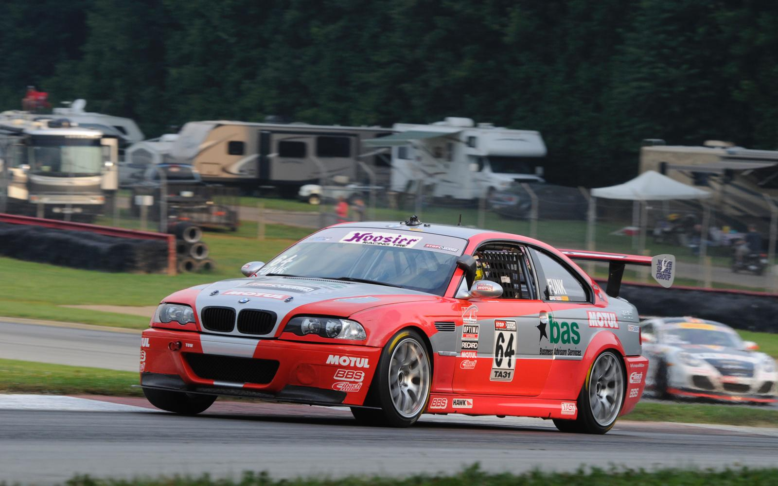 Funk Joins the Field for the Trans Am Race at Mid-Ohio