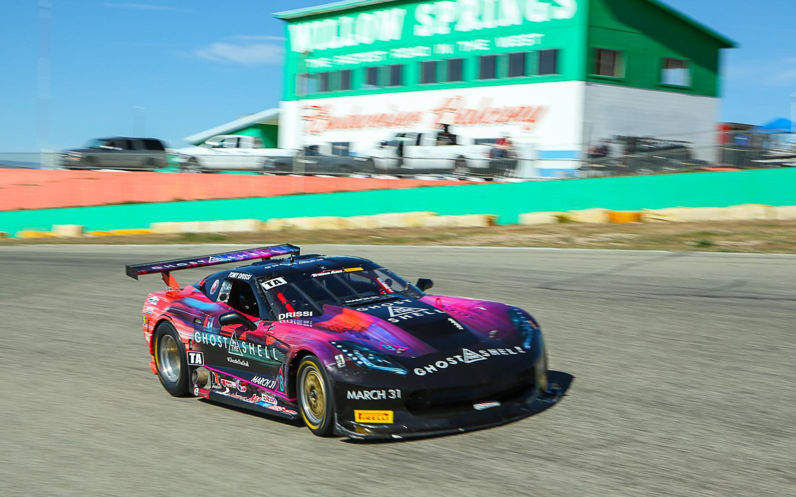 Tomy Drissi Victorious in Trans Am's Western Return