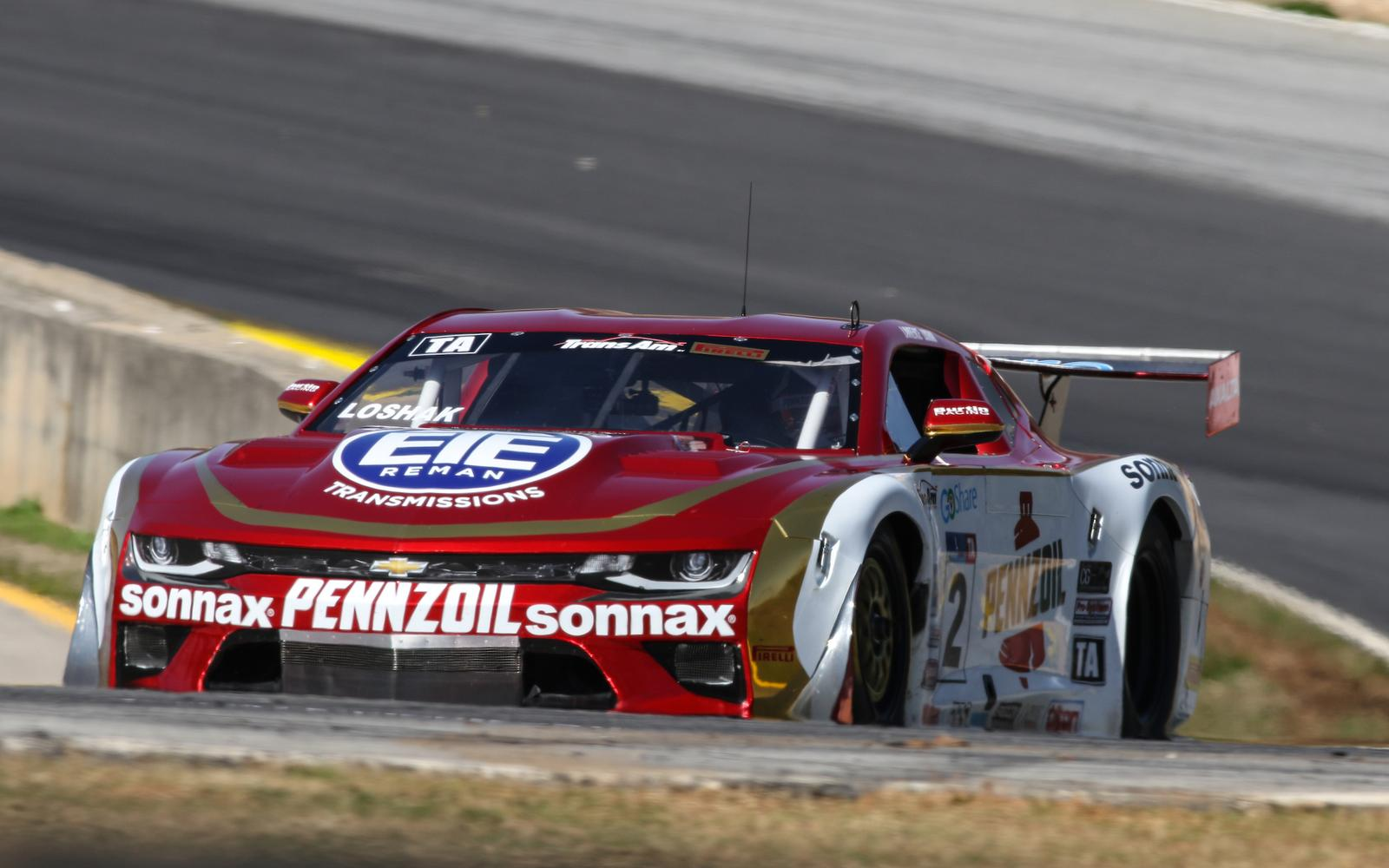 Loshak takes on Pittsburgh with Burtin Racing in inaugural Trans Am
