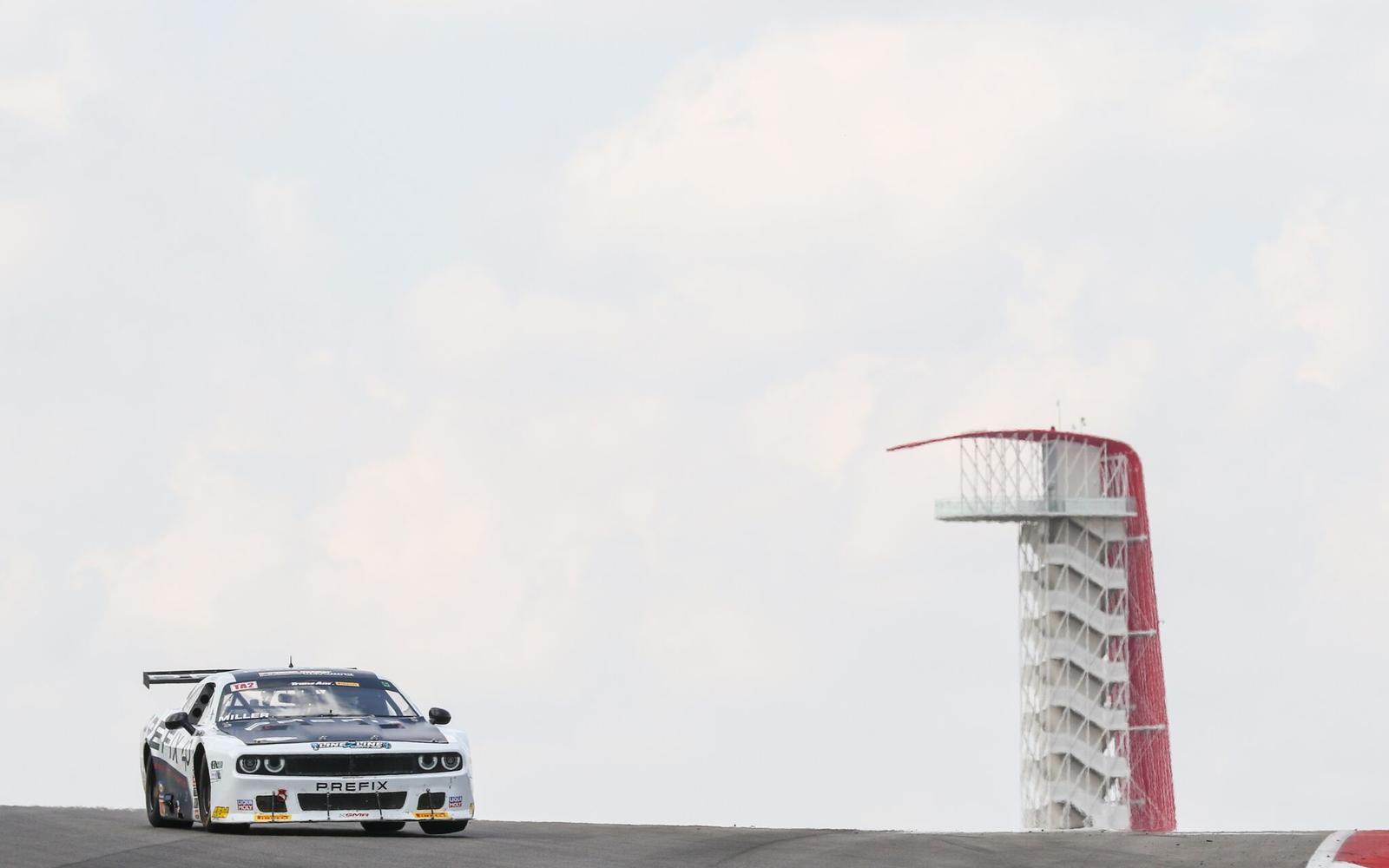 Marc Miller Takes Pole Position in Tight Trans Am Qualifying