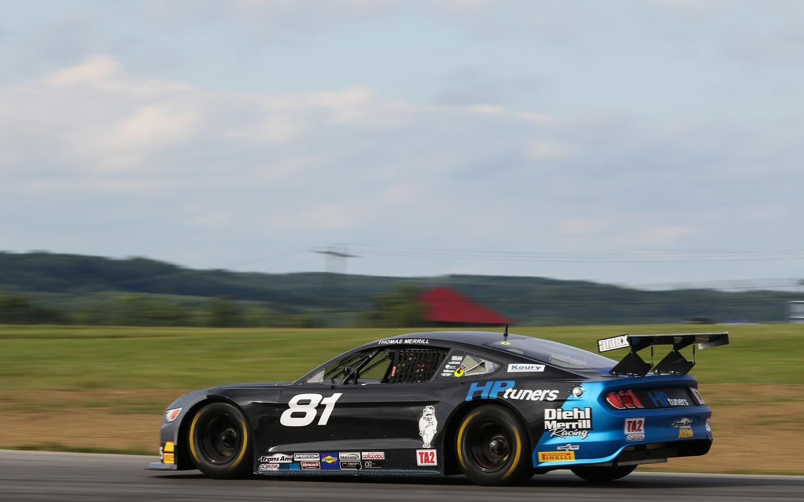 NEWS FLASH: Time runs out, Merrill takes TA2 victory at Mid-Ohio