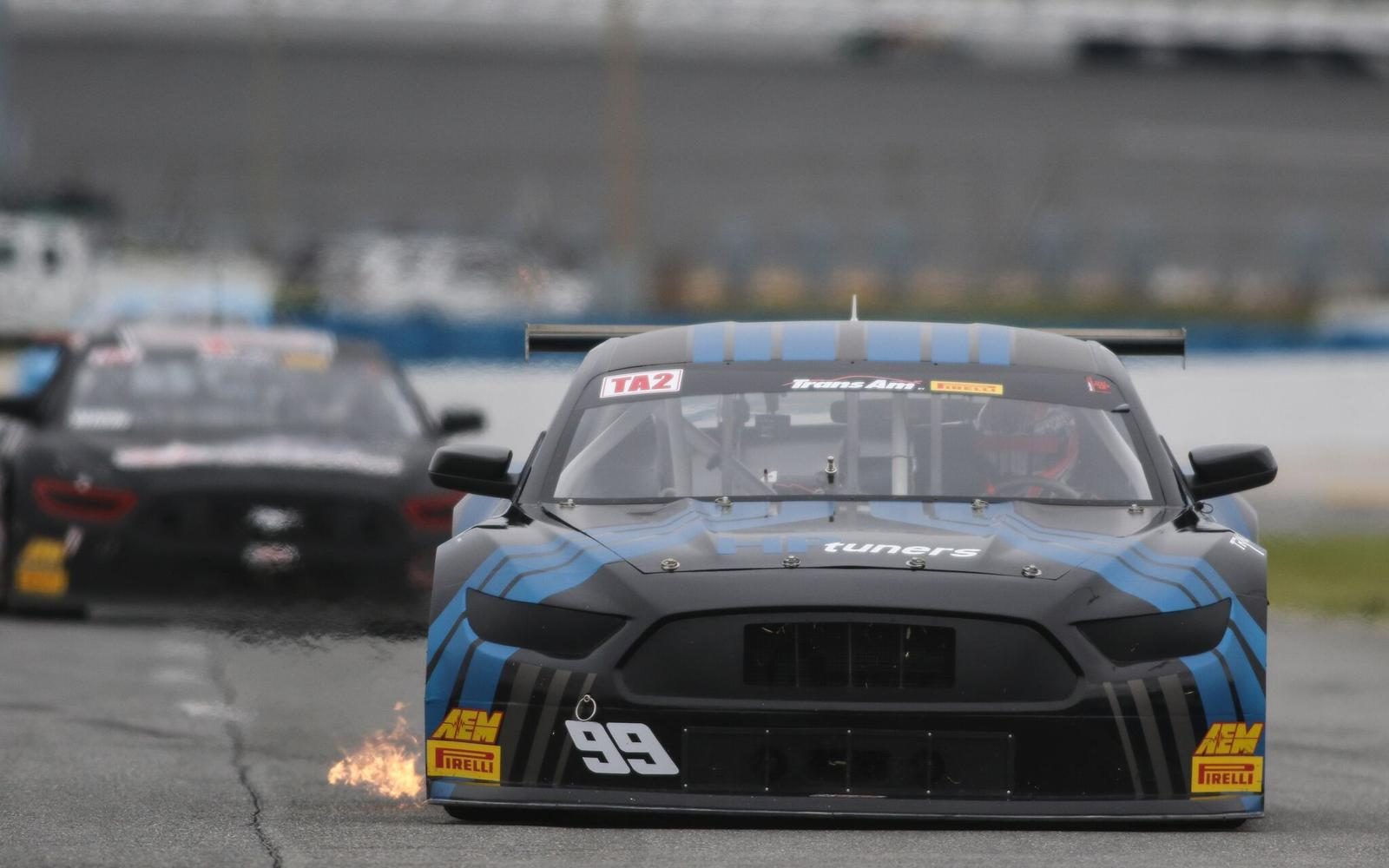 Merrill Holds onto Victory after Grueling Trans Am TA2® Finale at Daytona