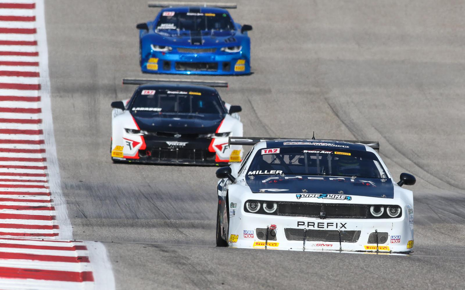 Trans Am News Flash: Marc Miller Wins Race and TA2 Championship at CoTA
