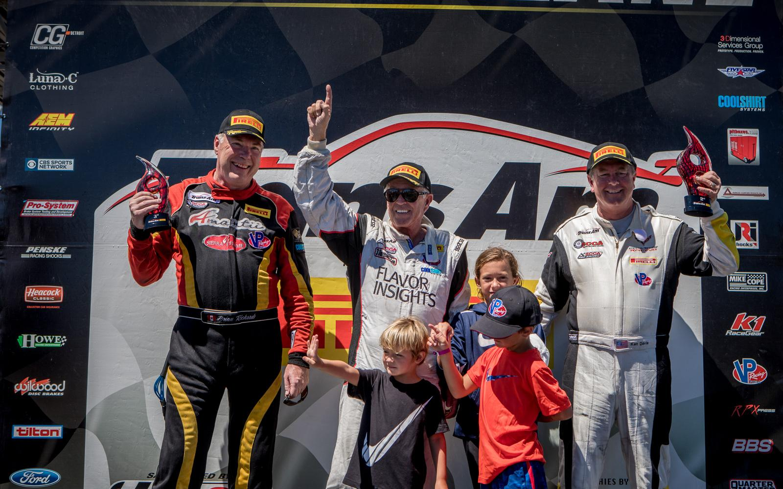 Greg Pickett Captures Trans Am West Win at Portland International Raceway