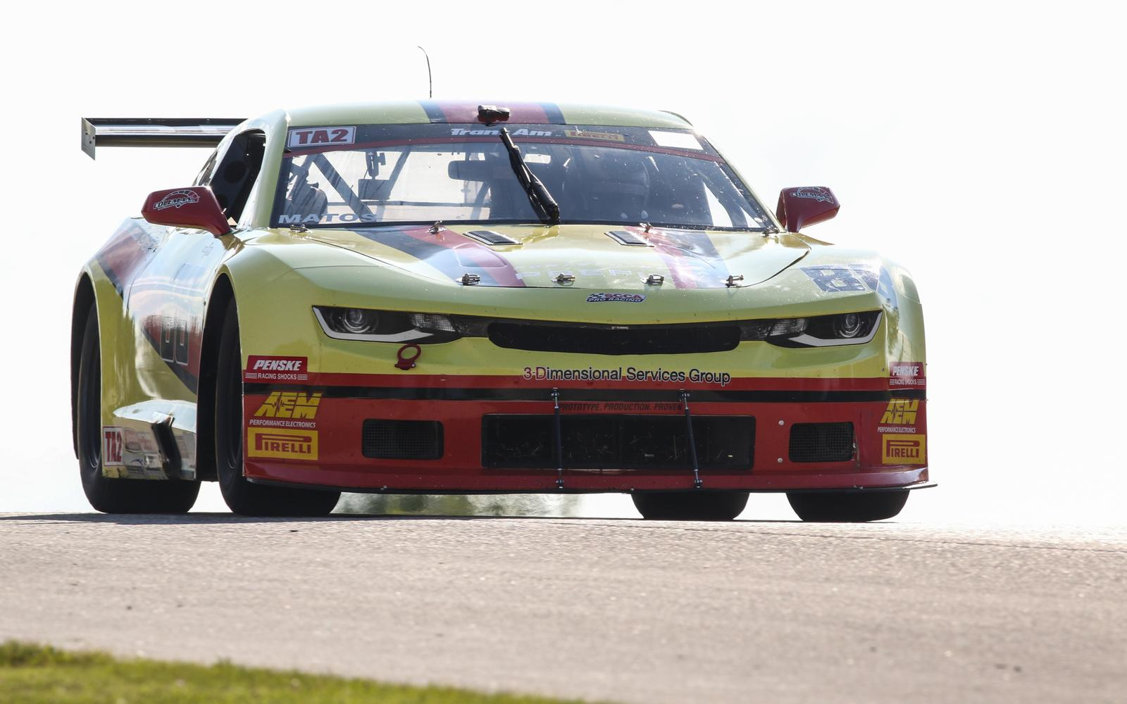Matos Leads from Flag to Flag for Third Trans Am Victory of 2019