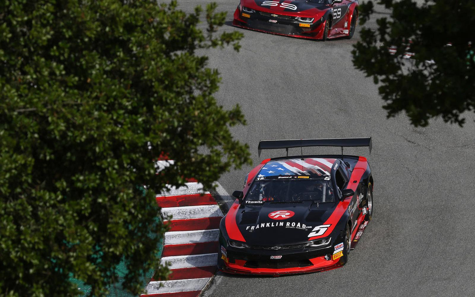 Thwaits Masterclass Clinches Double Podiums at Laguna Seca Trans Am