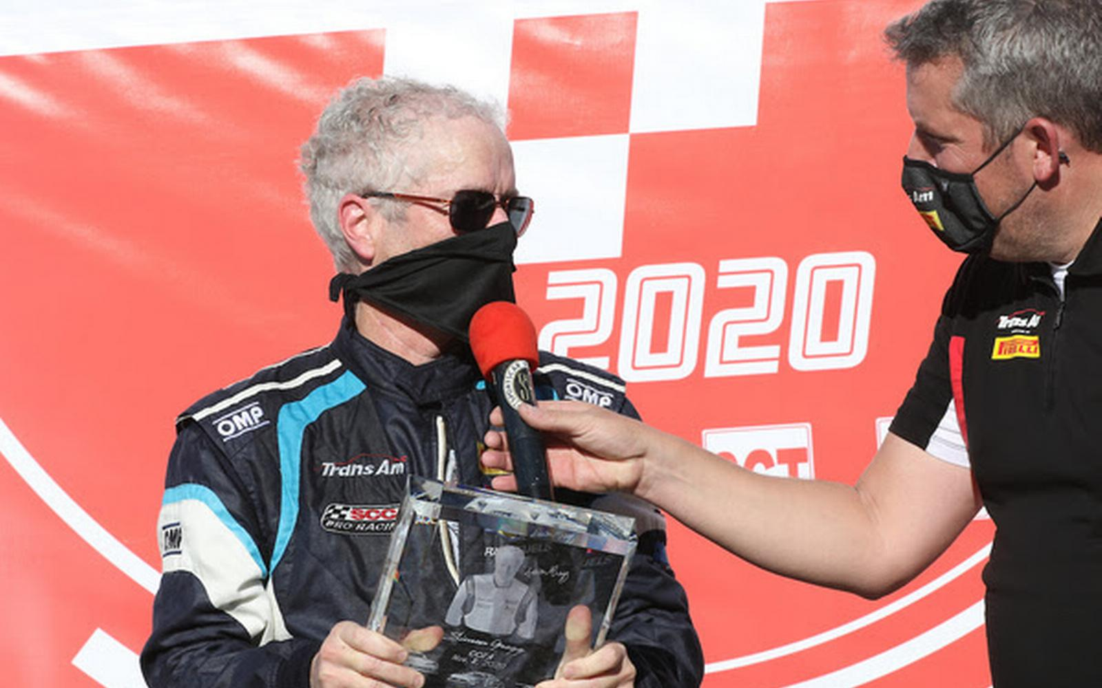 Trans Am Champion Gregg Honored at COTA With Landmark 200 Race Starts