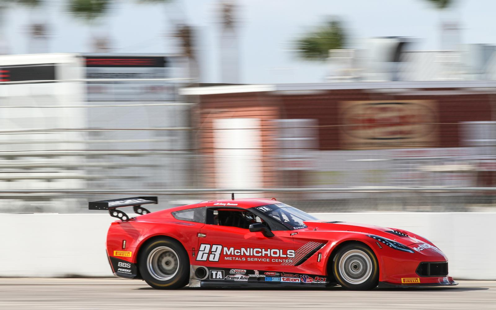Ruman and the No. 23 McNichols Co. Corvette Back for 2018 Trans Am Season
