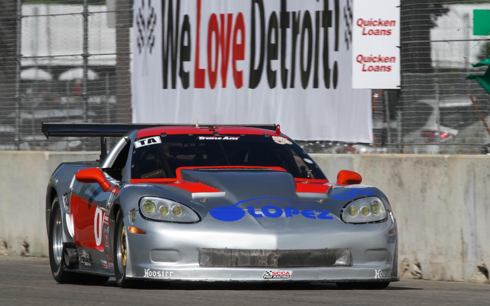 RJ Lopez and Adam Andretti lead practice as Trans Am makes Detroit return