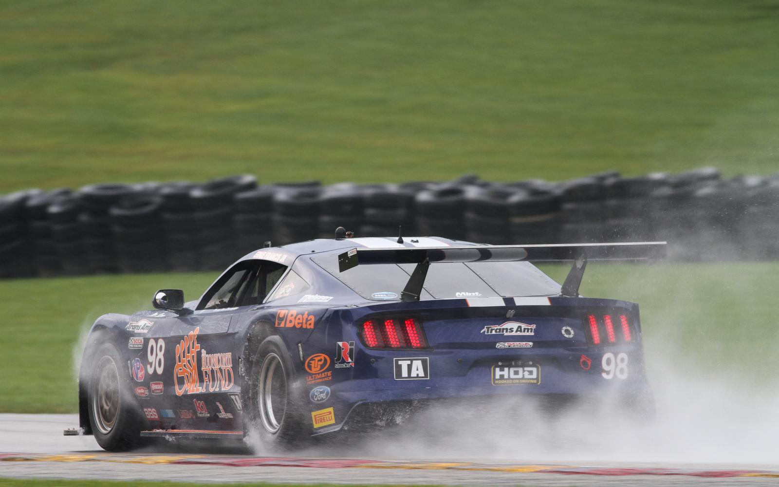 Francis and Creed victorious in wet Trans Am competitions at Road America