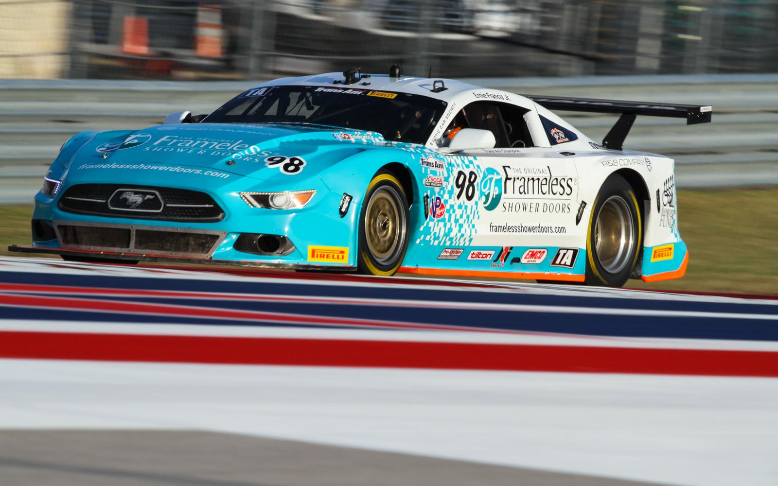 Ernie Francis, Jr., and Shane Lewis grab Trans Am poles at COTA