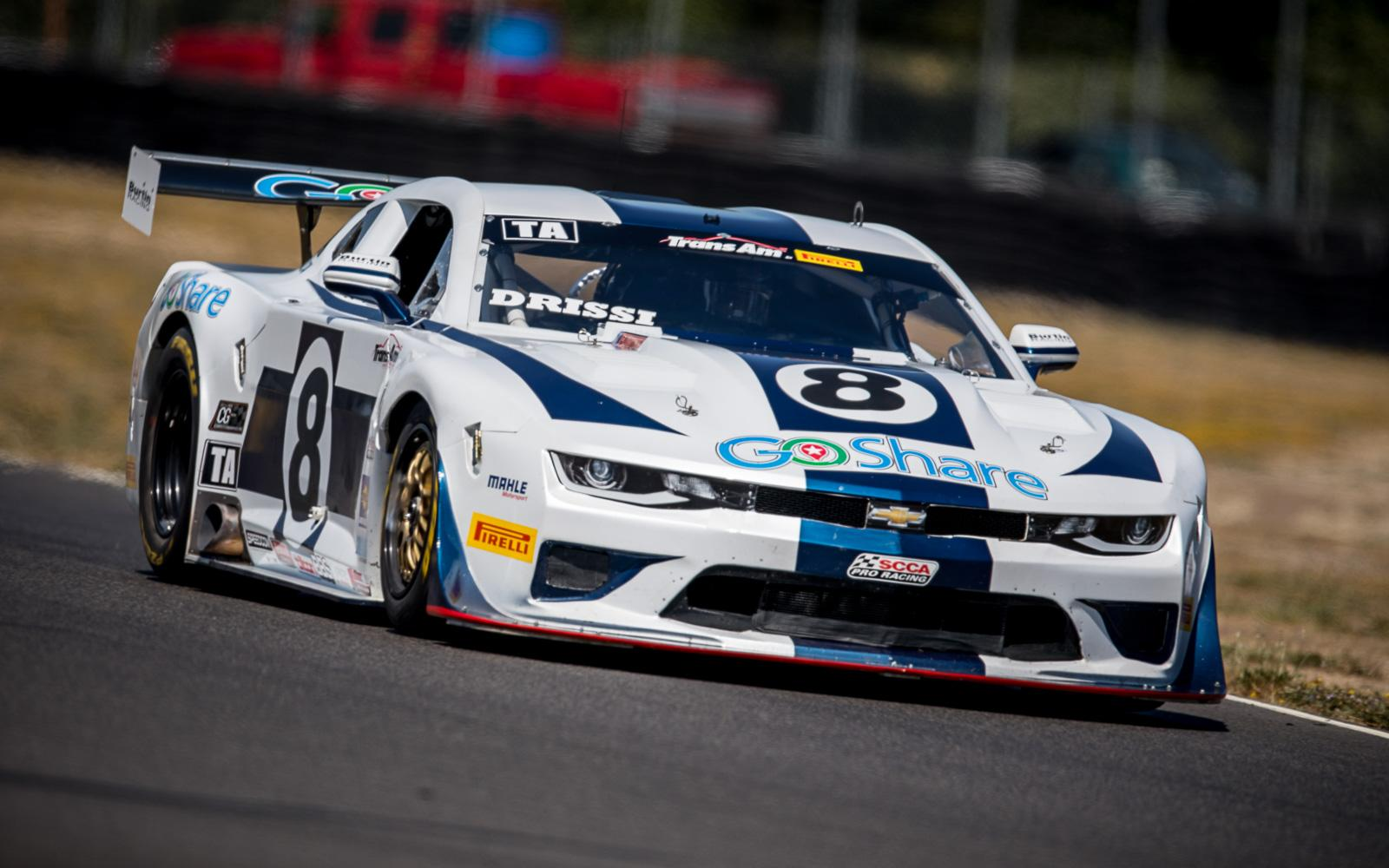 Drissi Tops Trans Am Charts in Portland Practice
