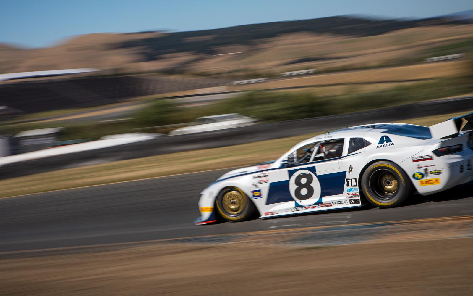 Trans Am West Sonoma Practice Report