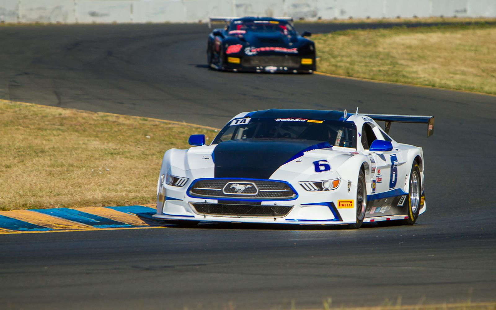 Pickett and Merrill on pole in Sonoma