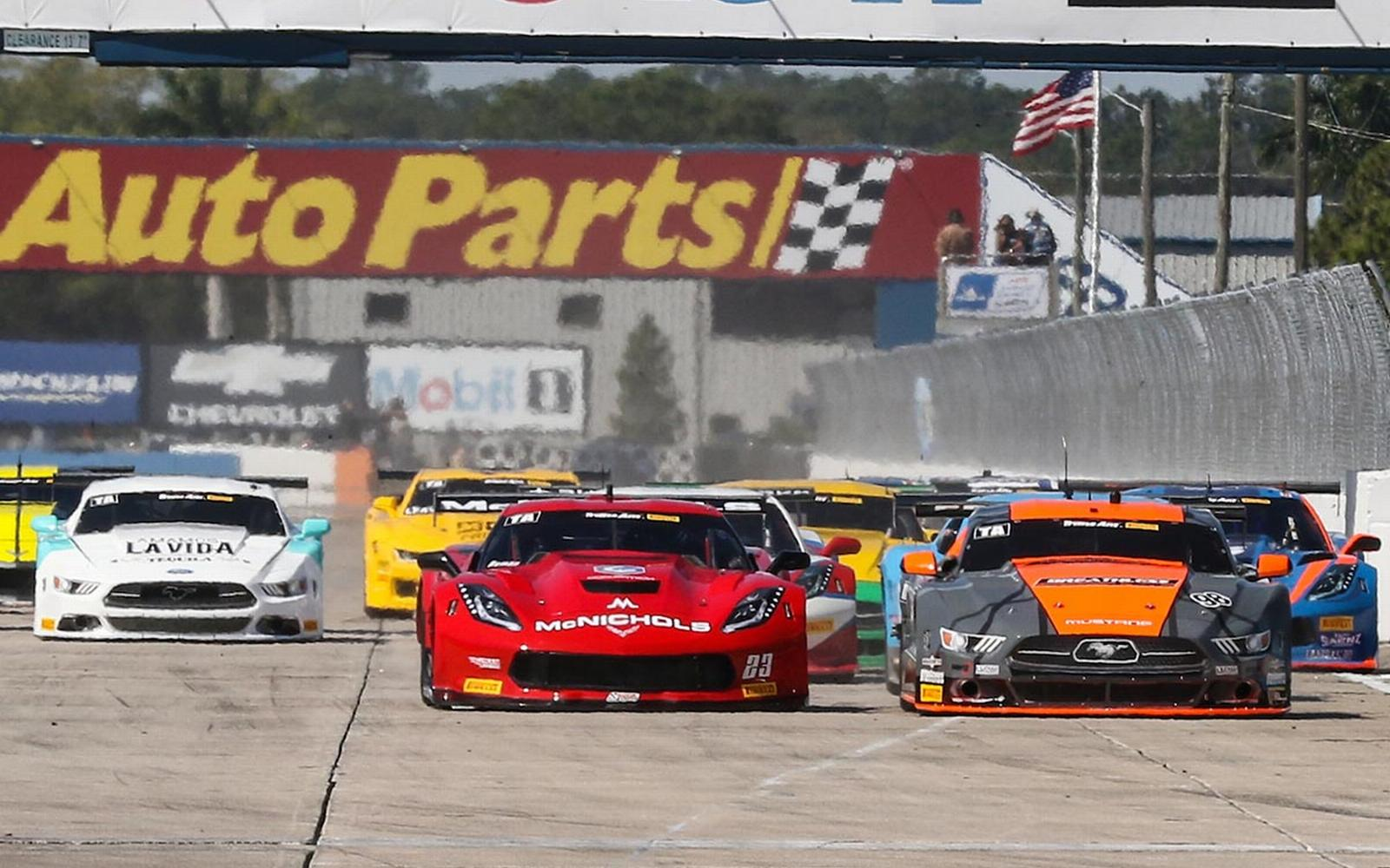 Sebring Roster Report for Trans Am's TA Class