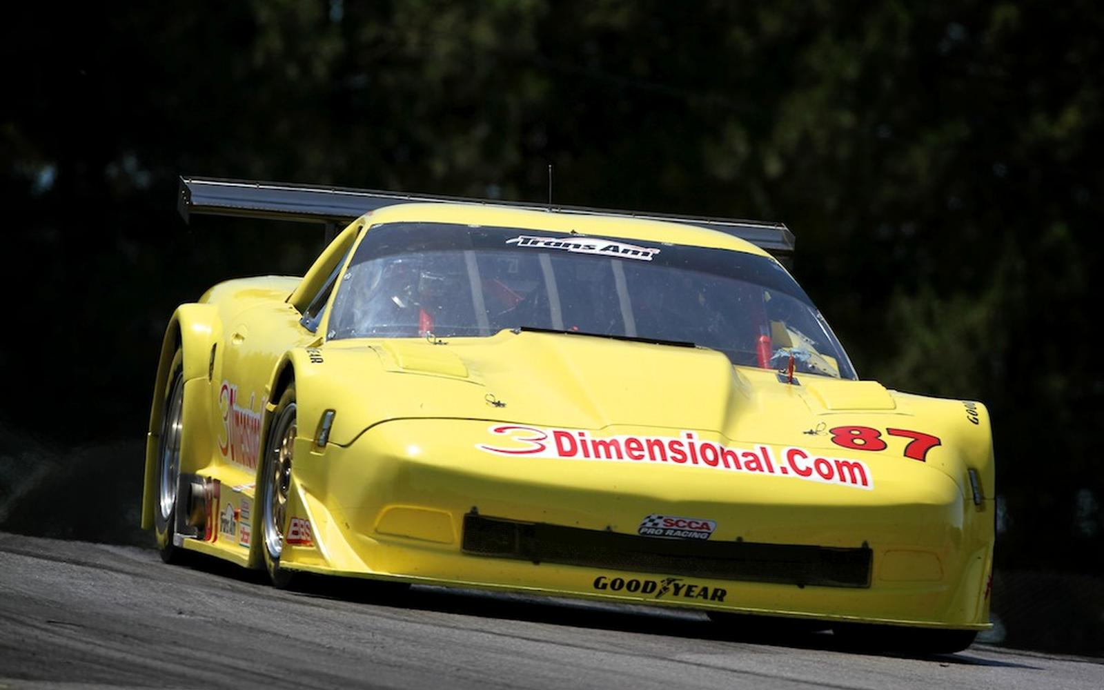 Doug Peterson Tops The Time Sheet For Mid-Ohio Trans Am Practice