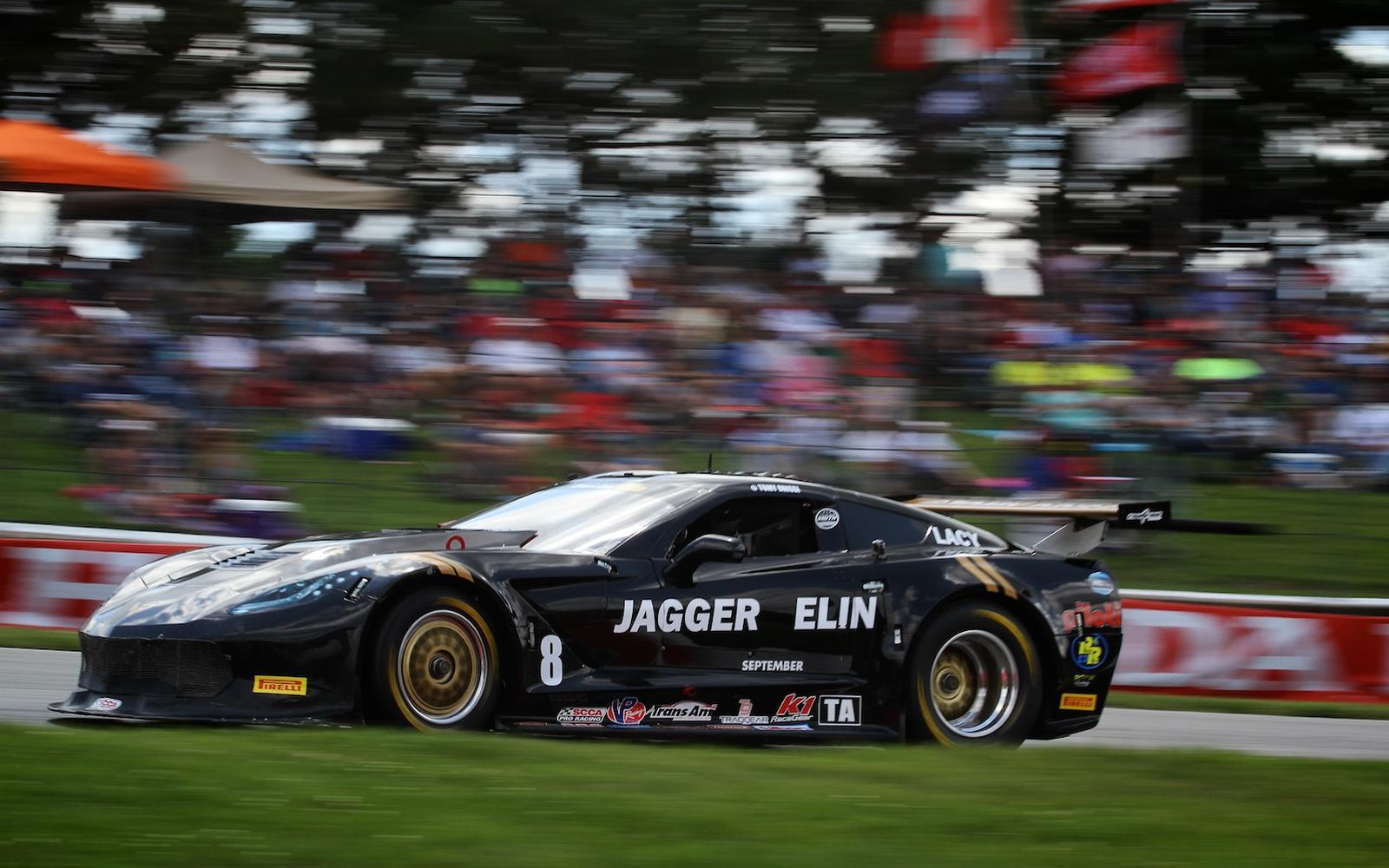 Tomy Drissi Picks Up a 5th Place Trans Am Finish at Mid-Ohio