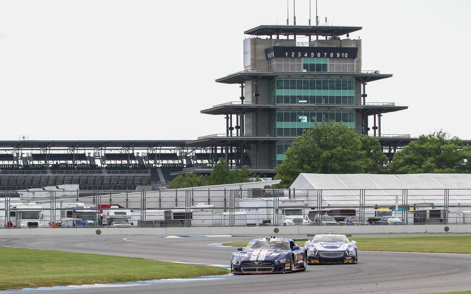 Trans Am Arrives at Indianapolis Motor Speedway for Berryman Brickyard