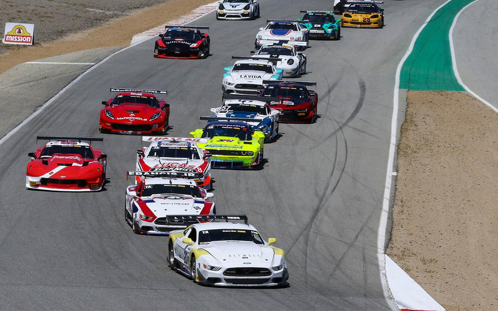 TA/XGT/SGT/GT Laguna Seca Race Replay Premiers this Sunday