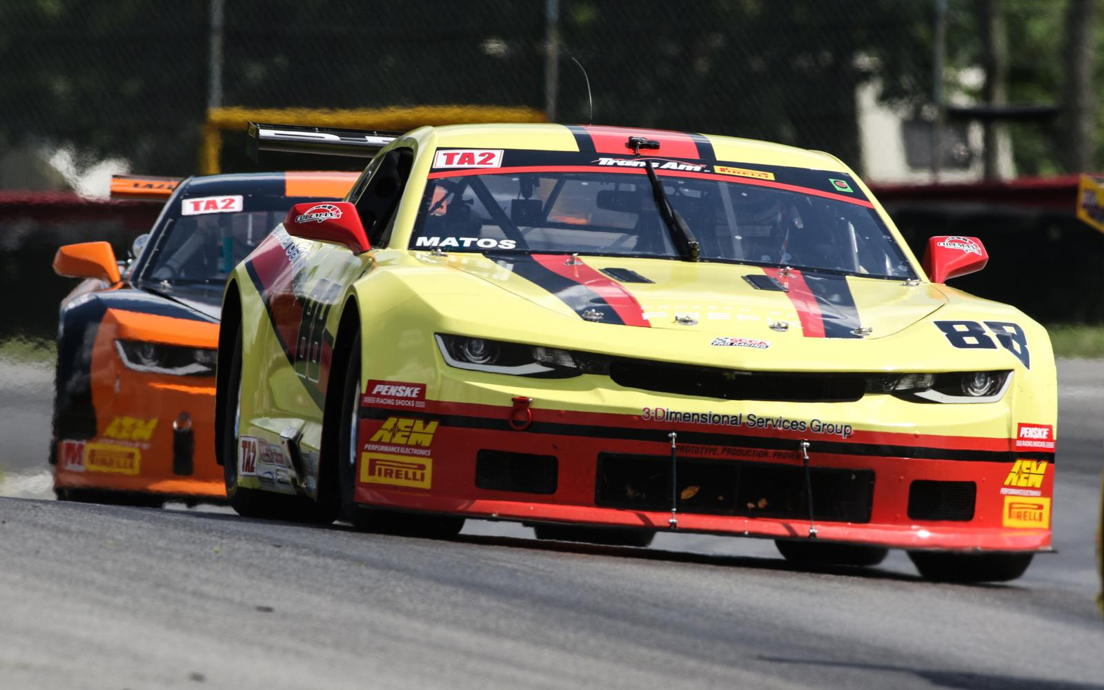 Trans Am at Mid-Ohio: Matos Takes Second Trans Am Pole of 2019 in Wild Qualifying