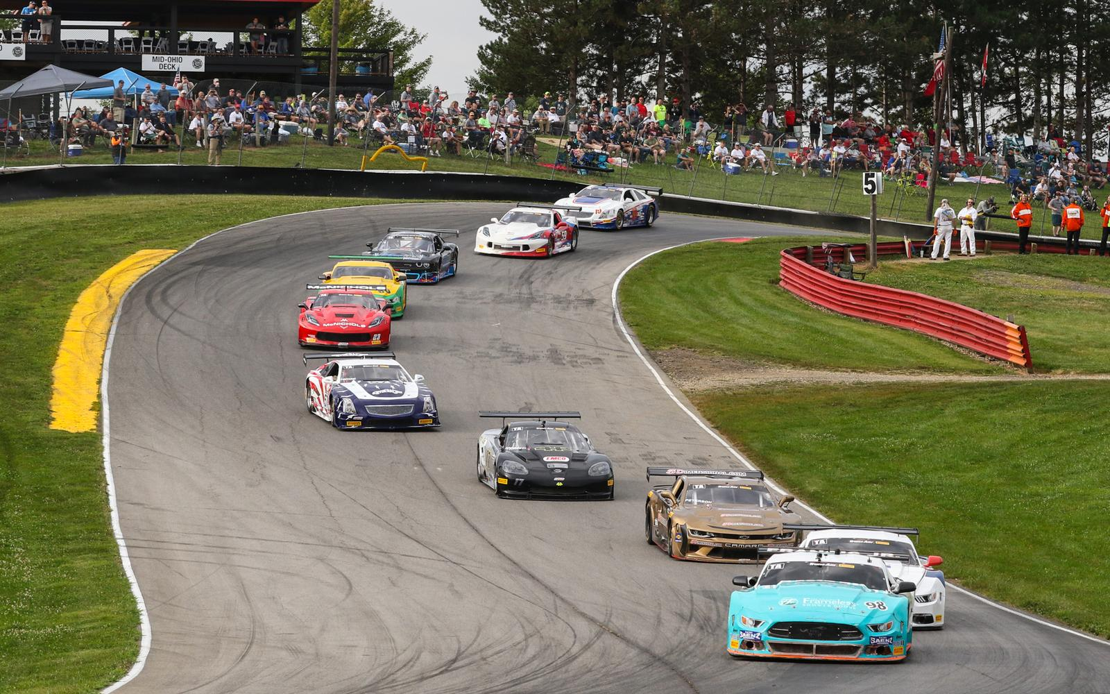 Trans Am at Mid-Ohio: Francis, Jr., Boden, and Funk take victory in Saturday's First Energy Mid-Ohio 100