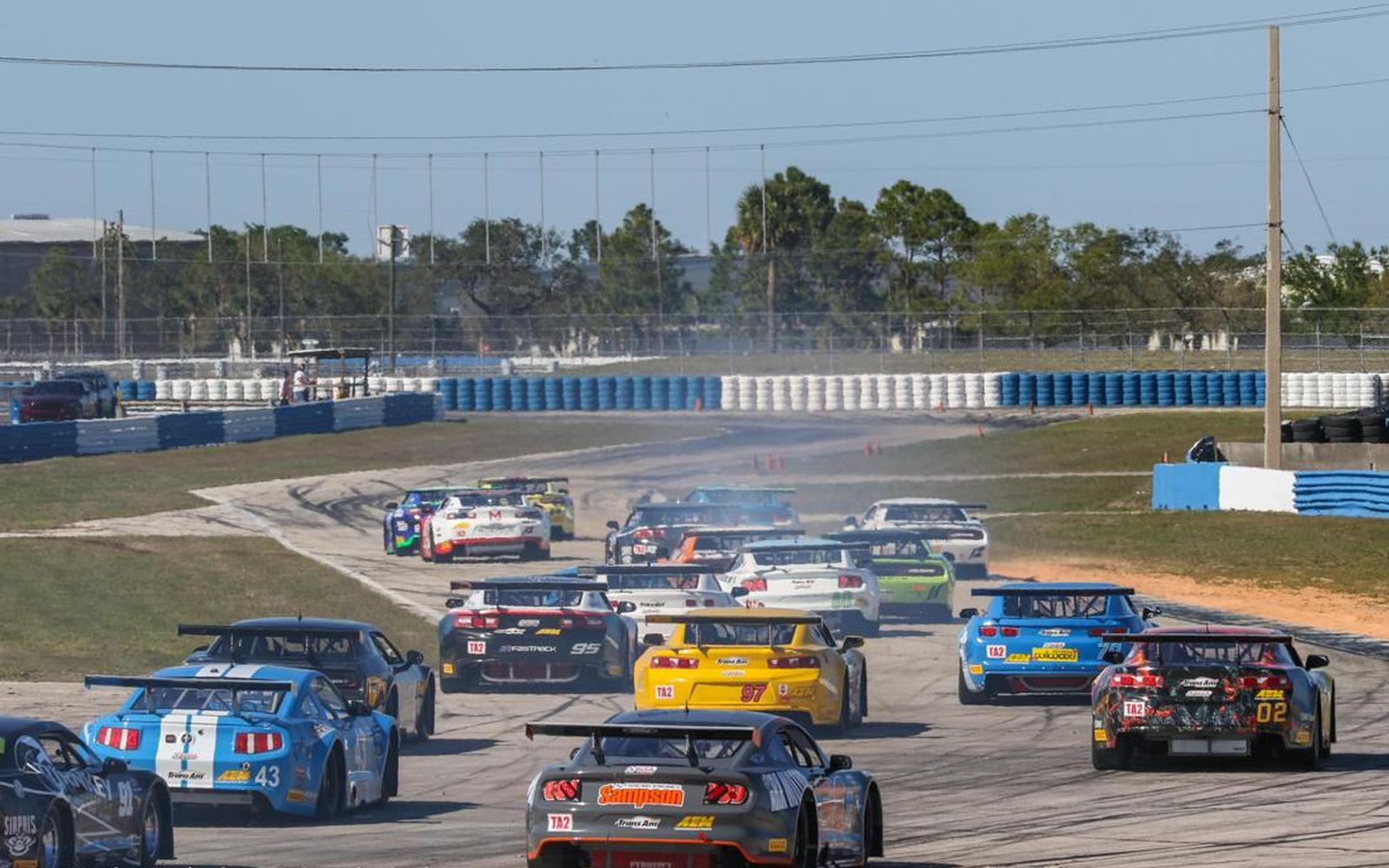 Trans Am Series Returns to Sebring to Open 54th Season