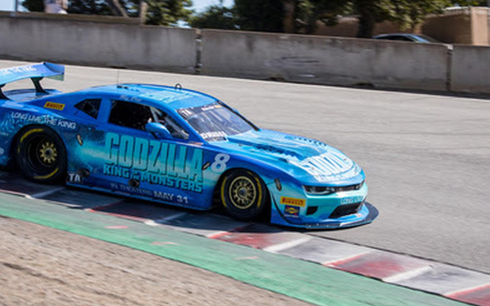 Godzilla 'King of the Monsters' Wows Laguna Seca Crowd as Drissi Claims Second Podium of the Season