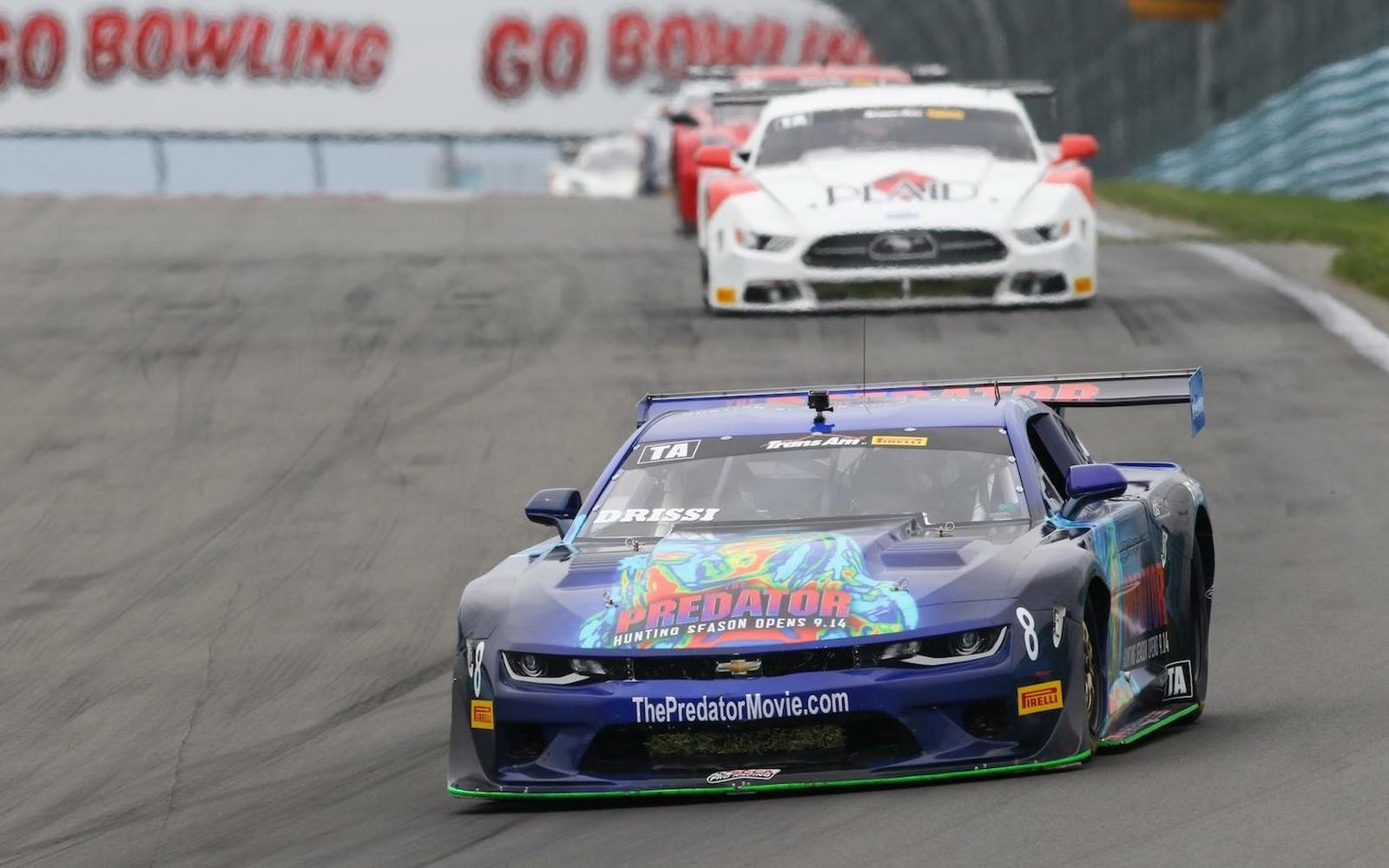 Tomy Drissi Heads to VIR for Trans Am Showdown