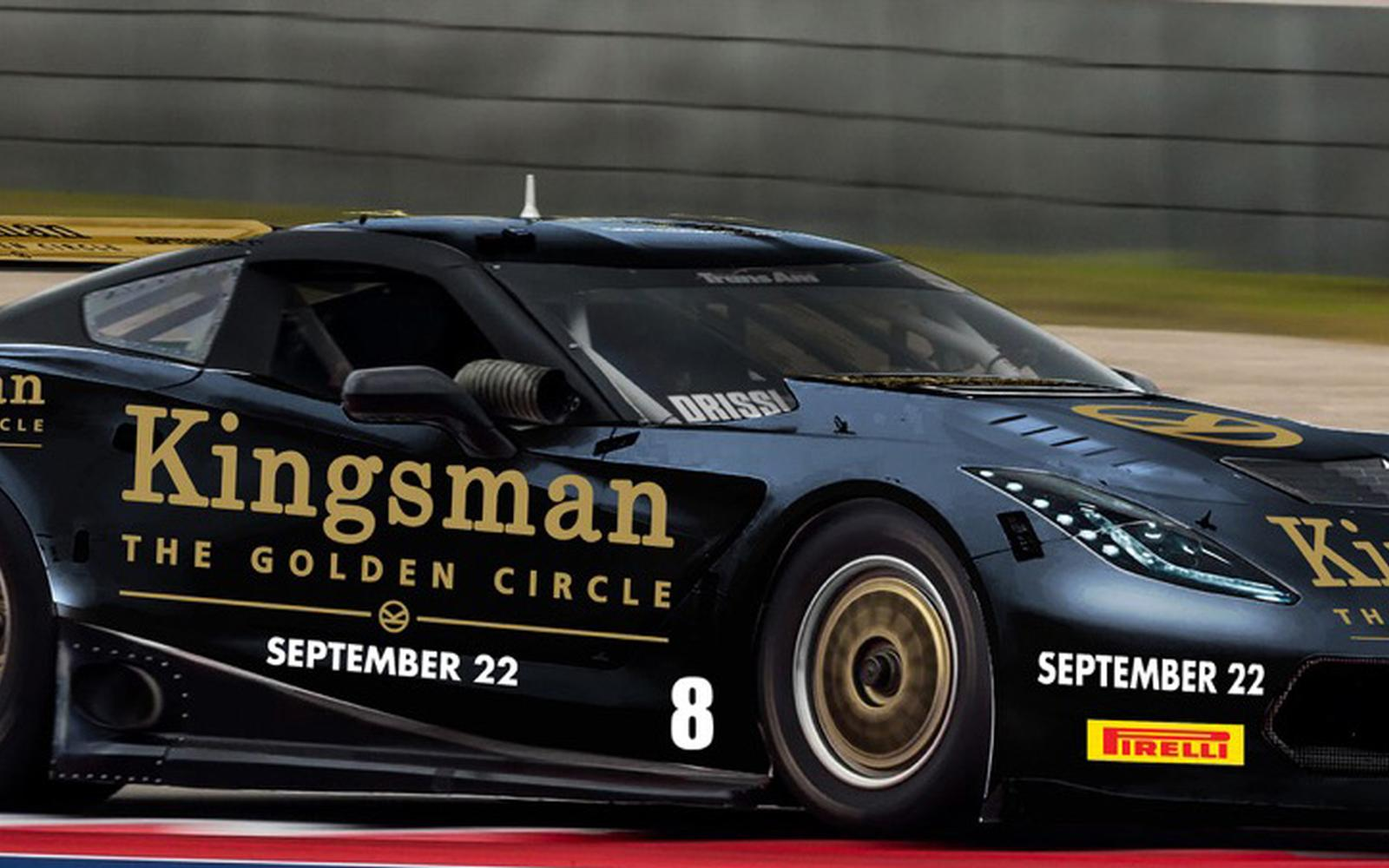 "Tomy Drissi to Drive ""Kingsman The Golden Circle"" Corvette at Mid-Ohio"