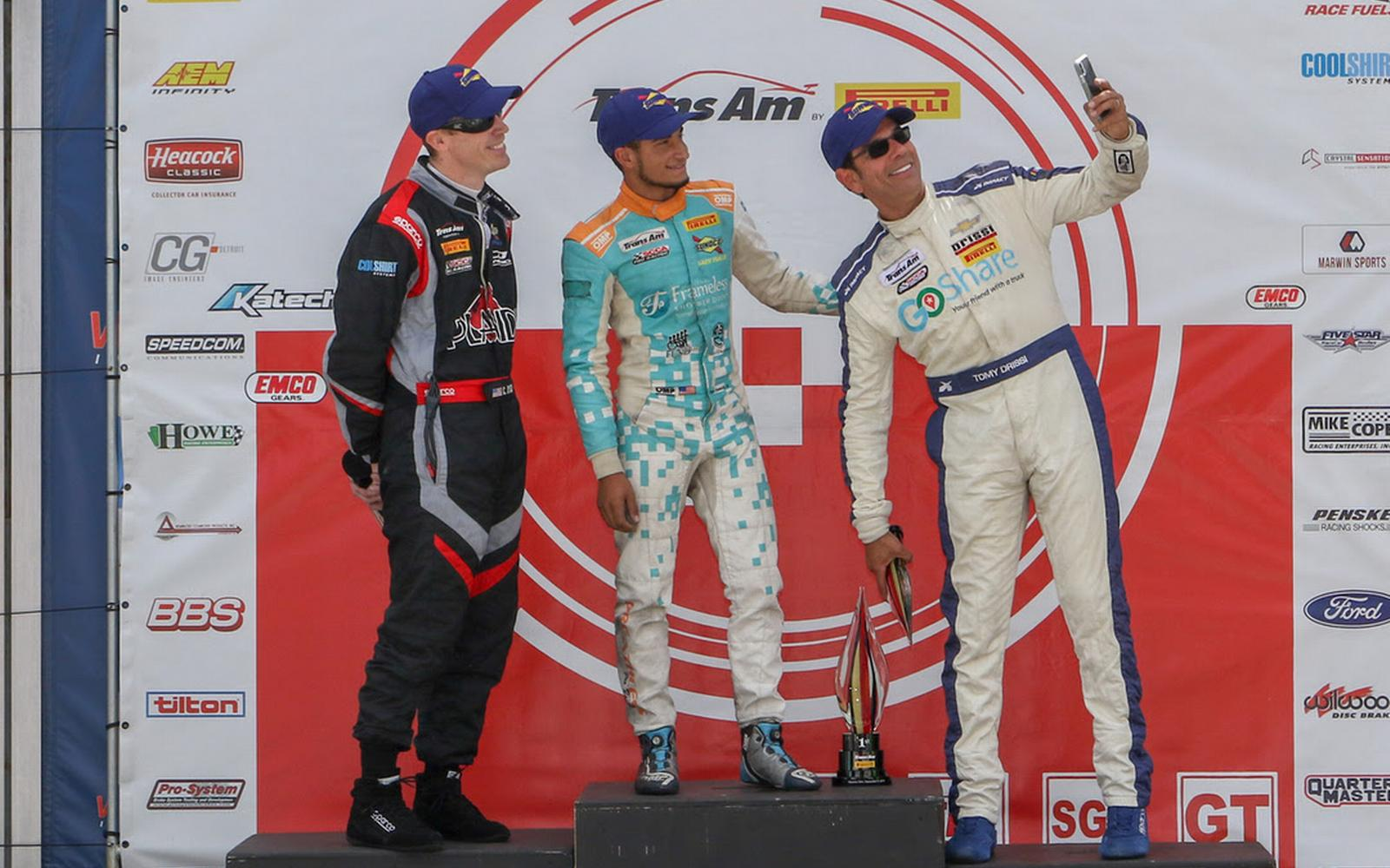 Drissi Roars Back With Podium Finish At The Glen