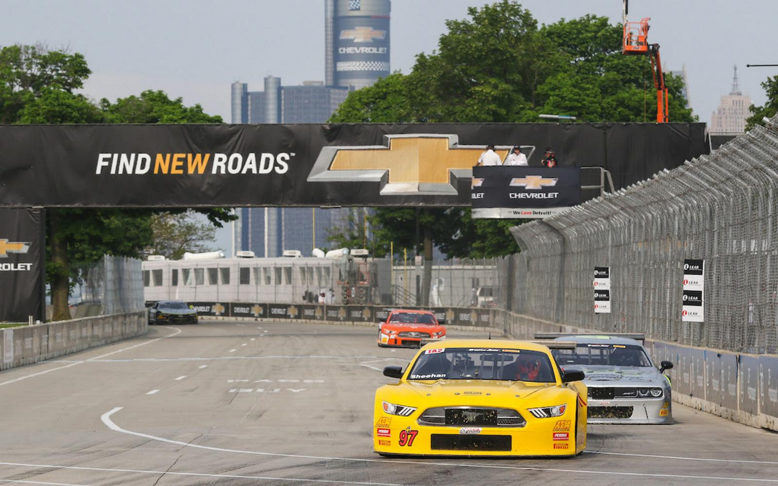 Sheehan Drives Detroit with Success and Mechanical Woes
