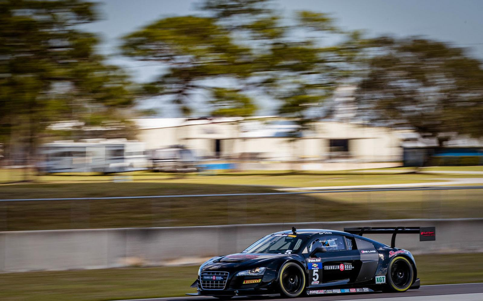 Franklin Road Powering Showtime Motorsports Awesome Audi R8s in Trans Am XGT