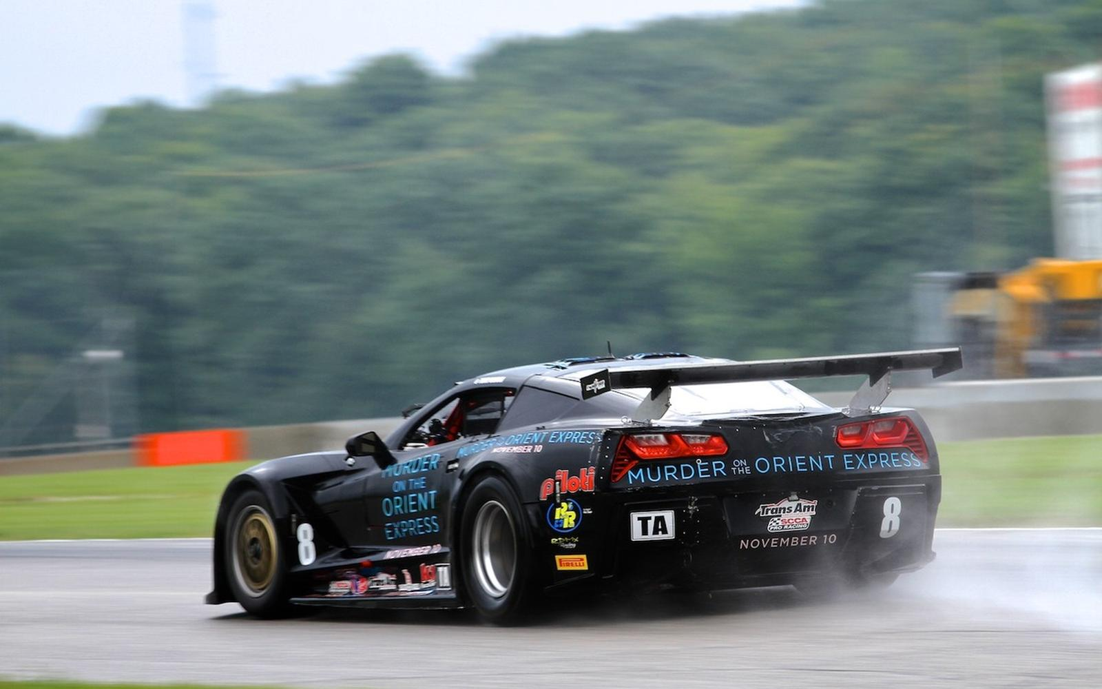 "Drissi ""Wrings Out""  a Hard Earned 5th Place Finish in Trans Am at Road America"