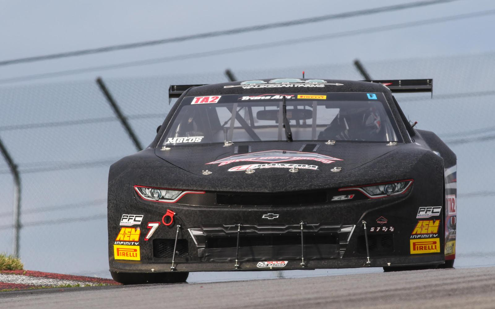 Rafa Matos Claims Mid-Ohio Pole