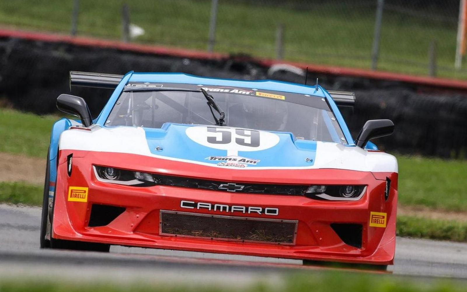 Gregg Debuts Stunning Trans Am Camaro at Rain Affected Mid Ohio