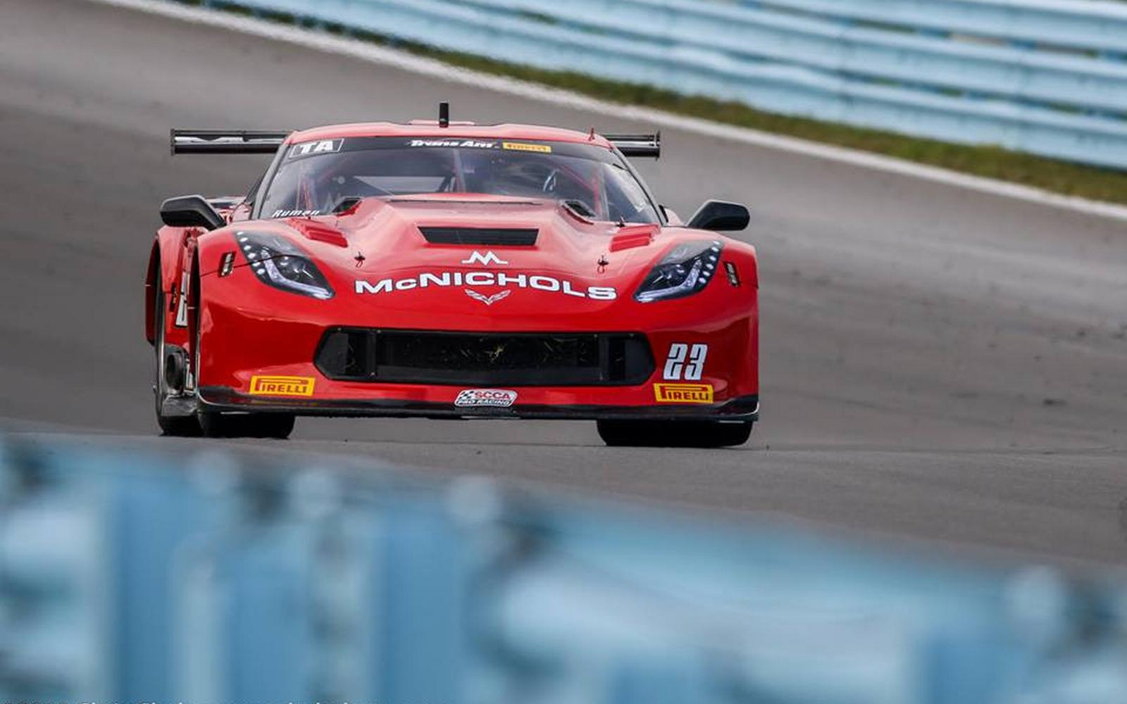 P4 at Road America for Ruman – On to Round 8 at Watkins Glen