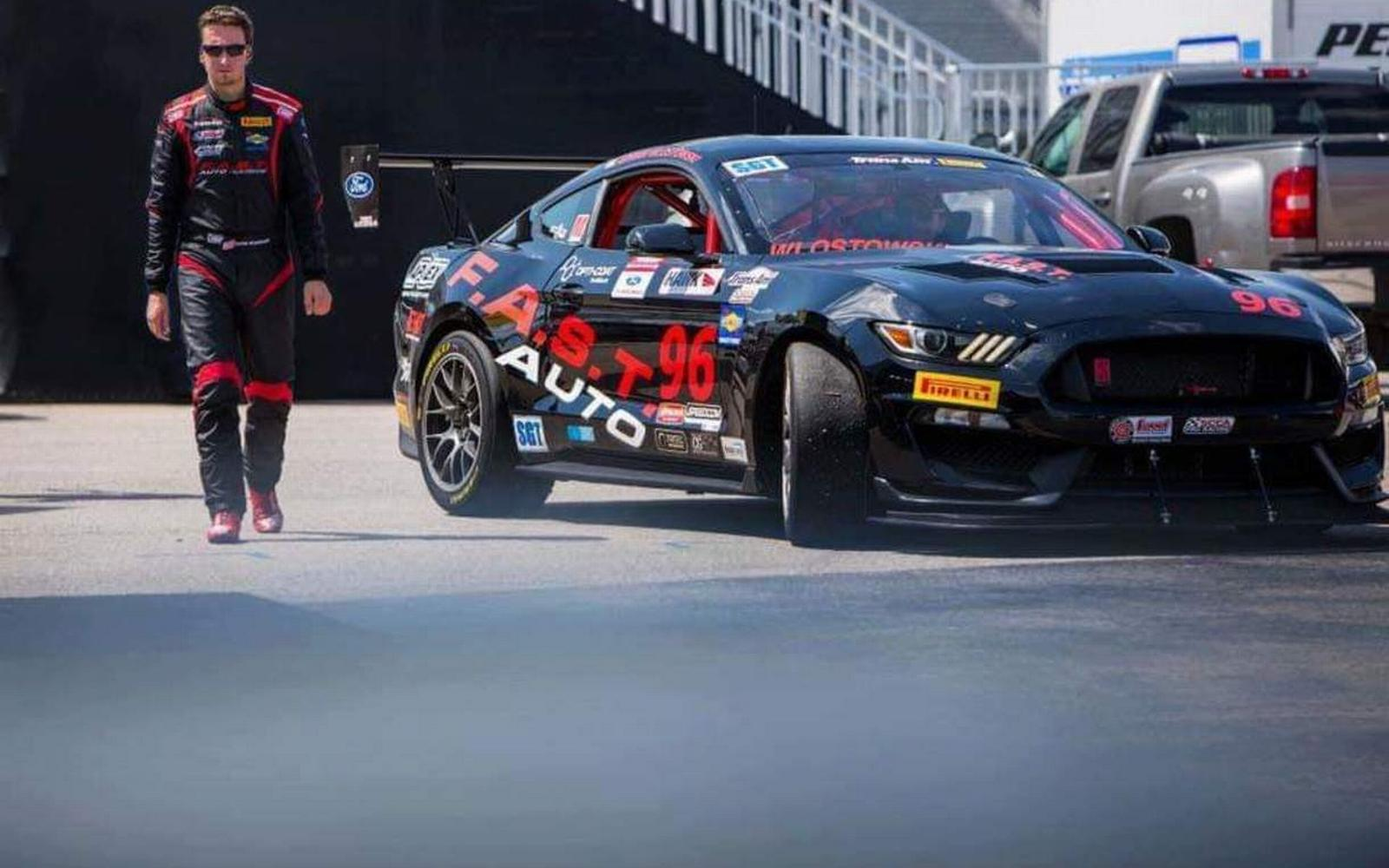 SGT Podium the Aim for Trans Am Rookie Wlostowski