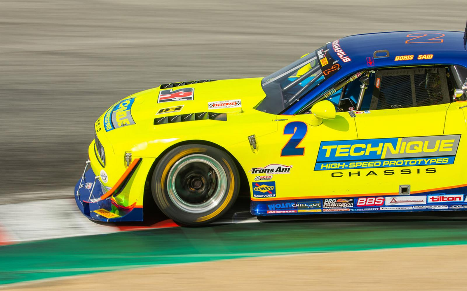 Weaver Racing Concepts in Competition Mode Out West for Laguna Seca Trans Am Speedfest