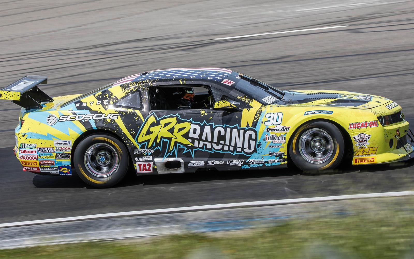 Abbate takes on Trans Am Debut with Perseverance to the Checkered