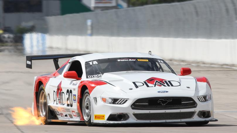 DYSON GOES LAST TO FIRST TO WIN  SEBRING TRANS AM SEASON OPENER
