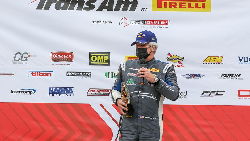 Maurice Hull Takes Top Honors in TA2 Masters at Road Atlanta