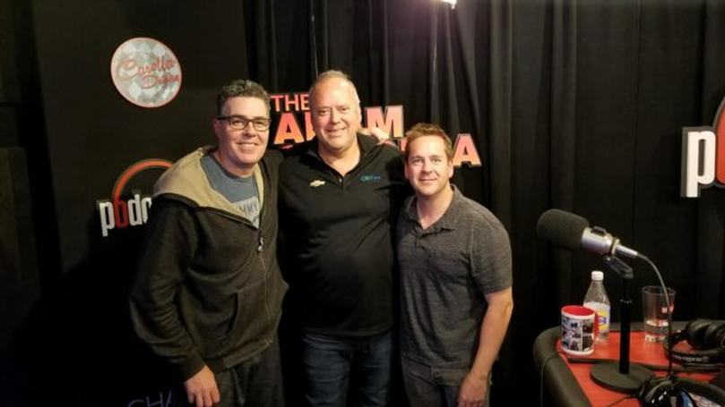 Claudio Burtin Features on Adam Carolla's Car Cast