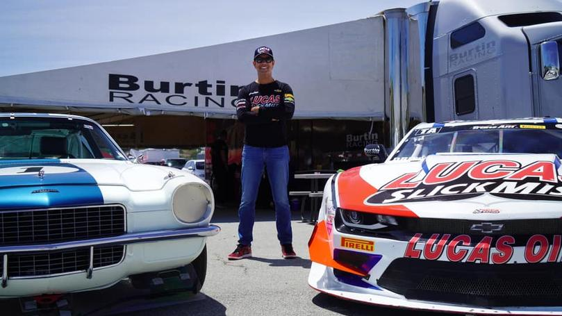 Lucas SlickMist Driver Tomy Drissi Wins Both Races In Double Duty At Laguna Seca Weekend
