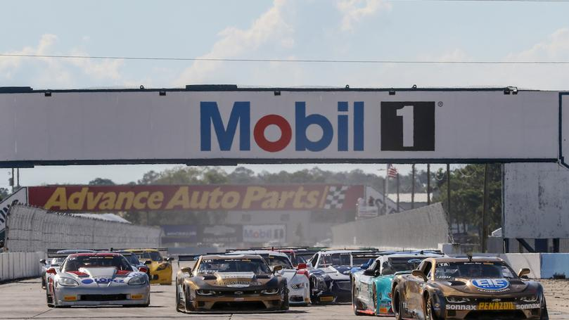 Loshak Dominant in Flag-to-Flag Sebring Win on Notable Weekend for Burtin Racing's Auto PLAYHOUSE
