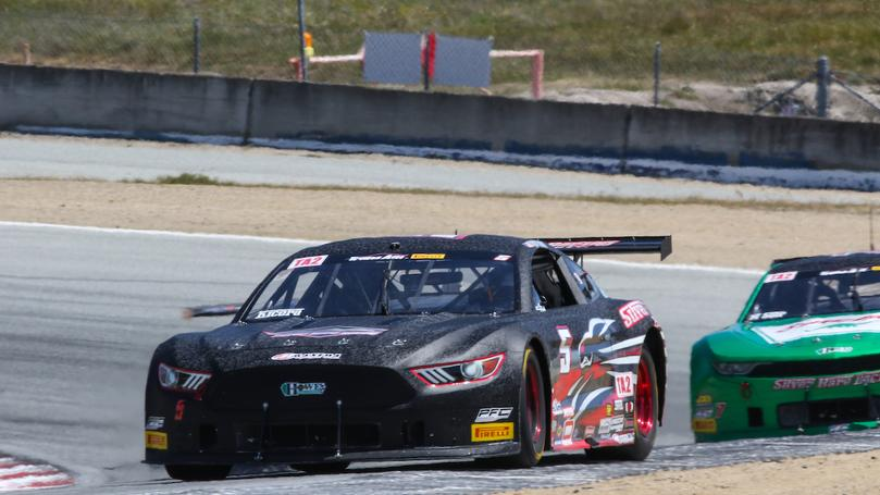 Two Top Tens for Silver Hare Racing at Laguna Seca