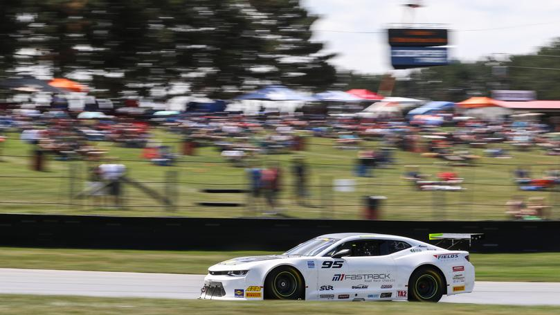 Lagasse Finishes Third in Trans Am FirstEnergy Muscle Car Challenge