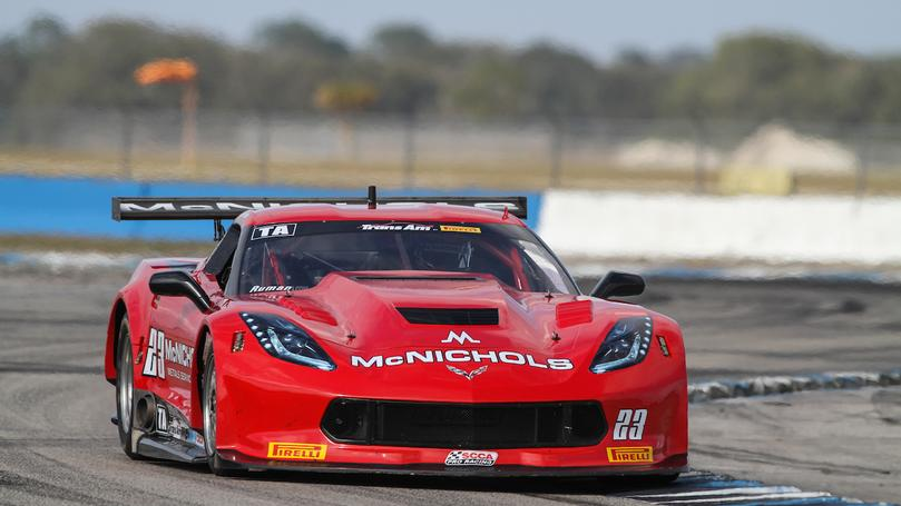Ruman and Trans Am Debut at Indianapolis Motor Speedway for Round 5