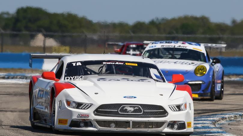 Chris Dyson Second at Sebring in 2018 Trans Am Season Opener